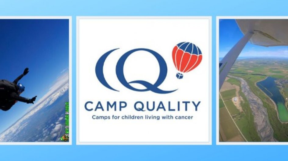 Taking a dive for Camp Quality Christchurch