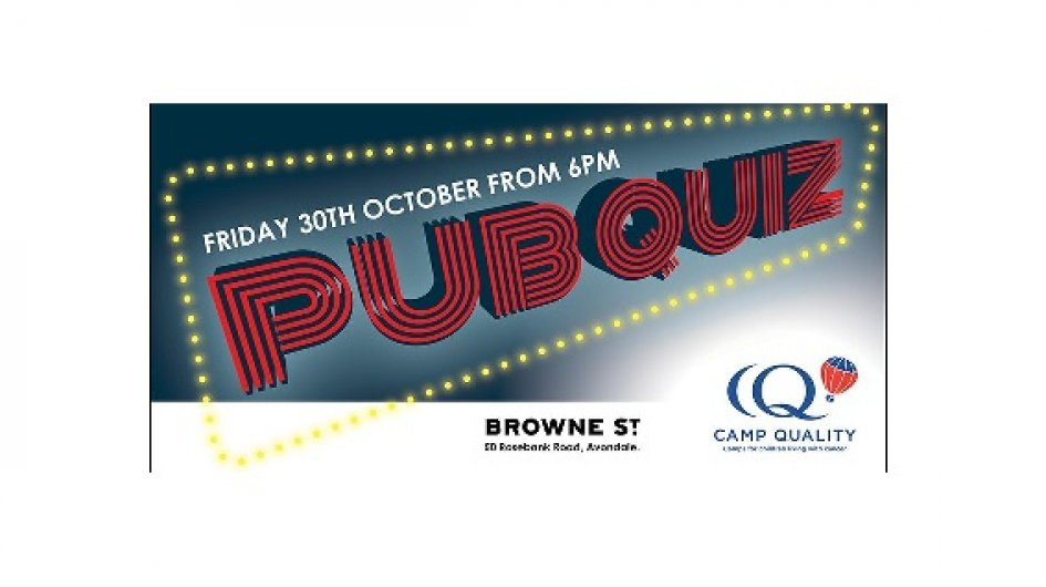 Camp Quality Pub Quiz Fundraiser