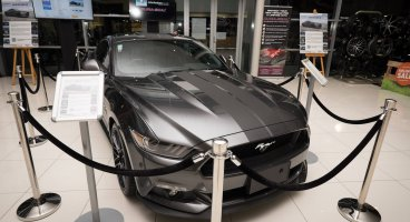 Iconic Ford Mustang up for auction on Trade Me